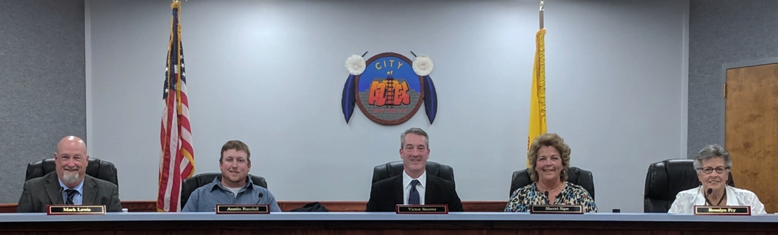 Photo of City Commissioners